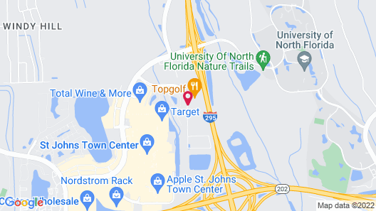 Holiday Inn Express & Suites Jacksonville - Town Center, an IHG Hotel Map