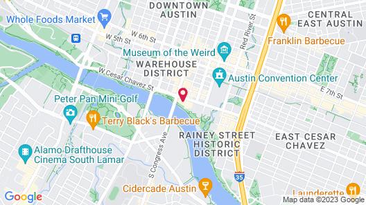 The LINE Austin Map