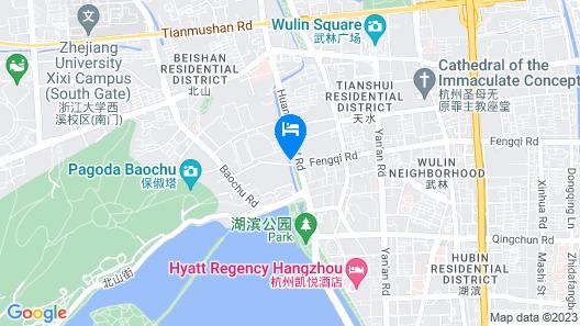 Midtown Shangri-La Hangzhou Map