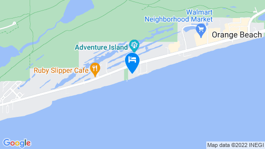 Seaside Beach & Racquet Condos by Meyer Vacation Rentals Map
