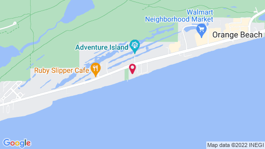 Seaside Beach & Racquet Club Map