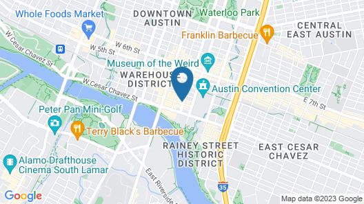 Hampton Inn & Suites Austin - Downtown / Convention Center Map