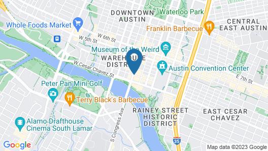 JW Marriott Austin Map