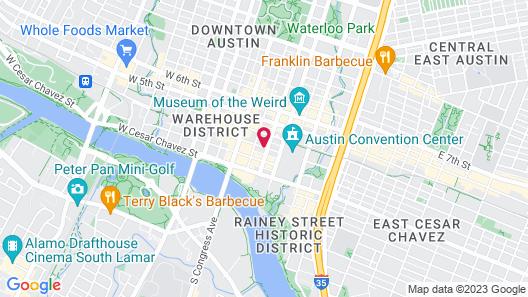 Hyatt Place Austin Downtown Map
