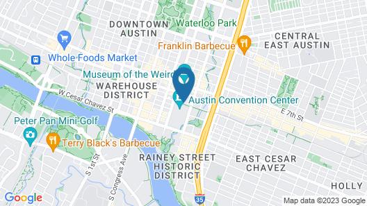 Hilton Austin Map