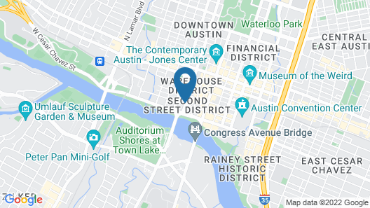 W Austin Map