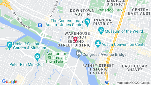 Kasa Austin Downtown Apartments Map