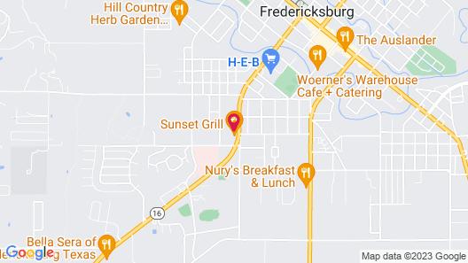 Econo Lodge Fredericksburg Map