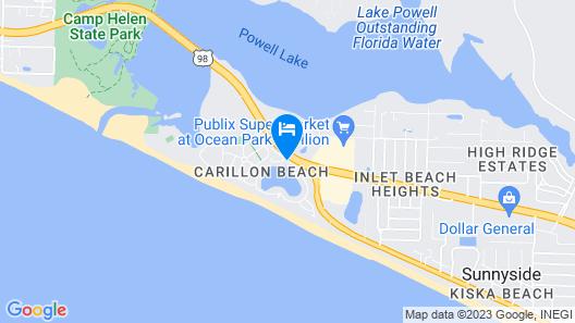 Carillon Beach Resort Inn Map