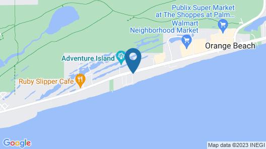 Holiday Inn Express Orange Beach, an IHG Hotel Map