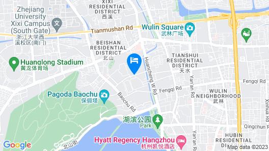 Wyndham Grand Plaza Royale Hangzhou Map