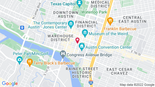 Residence Inn by Marriott Austin Downtown/Convention Center Map