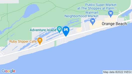Holiday Inn Express Orange Beach Map