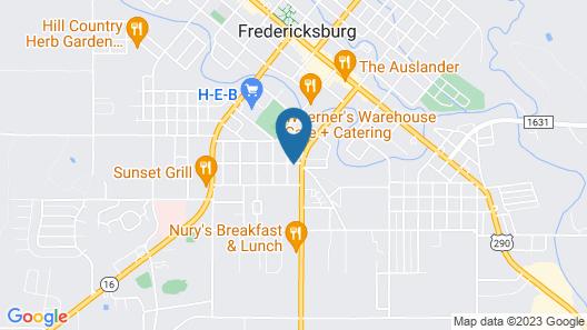 Holiday Inn Express & Suites Fredericksburg, an IHG Hotel Map