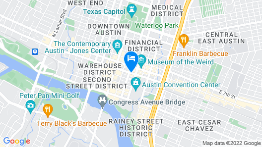 The Westin Austin Downtown Map