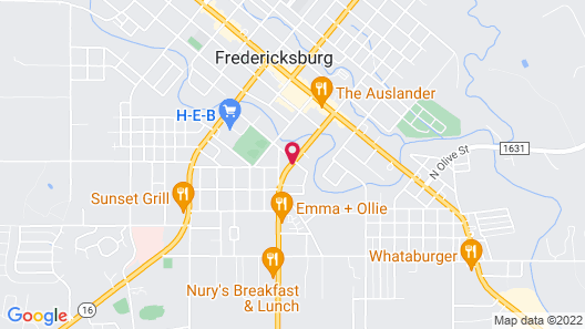 Peach Tree Inn & Suites Map