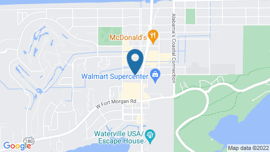 Holiday Inn Express & Suites Gulf Shores Map
