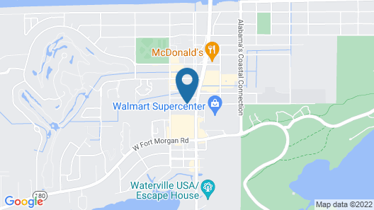 Holiday Inn Express & Suites Gulf Shores, an IHG Hotel Map