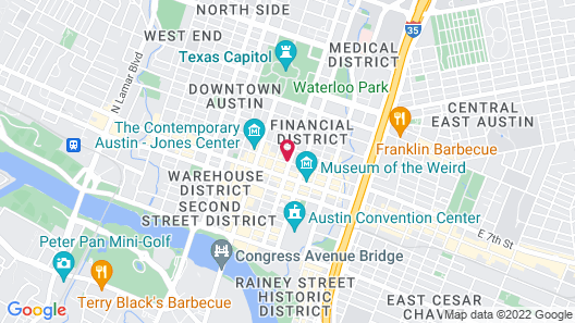 Omni Austin Hotel Map