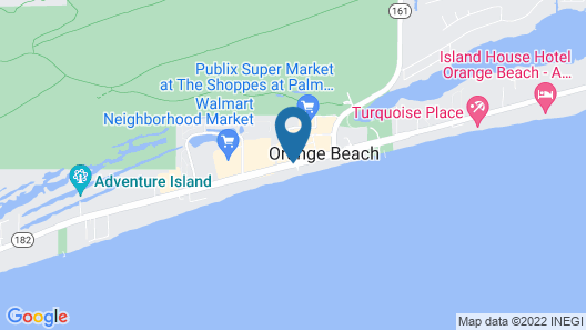 Hampton Inn & Suites Orange Beach/Gulf Front Map