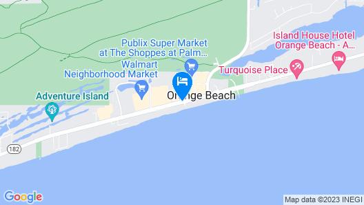 Hampton Inn & Suites Orange Beach/Gulf Front Map