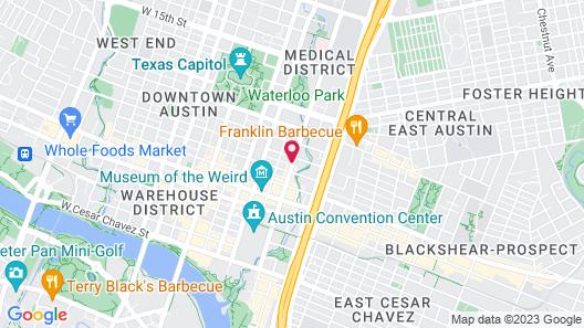 Hotel Indigo Austin Downtown - University, an IHG Hotel Map