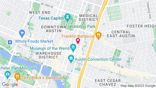 Holiday Inn Express & Suites Austin Downtown - University, an IHG Hotel Map
