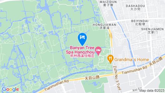 Banyan Tree Hangzhou Map