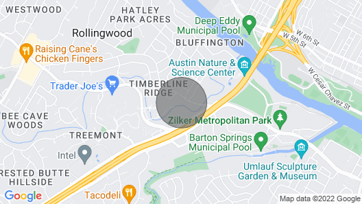 Authentic ATX Original Up to 8bds Walk to Downtown Perfect for Festival Map