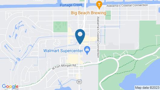 Hampton Inn Gulf Shores Map