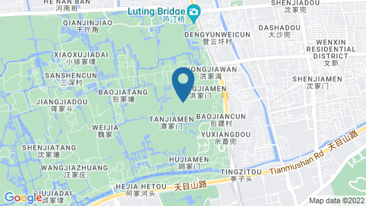 Sheraton Grand Hangzhou Wetland Park Resort Map