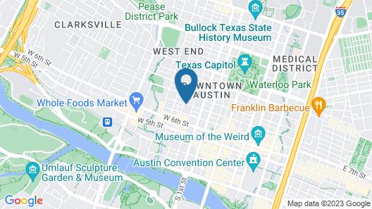 Club Wyndham Austin Map