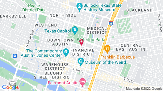 La Quinta Inn by Wyndham Austin Capitol / Downtown Map