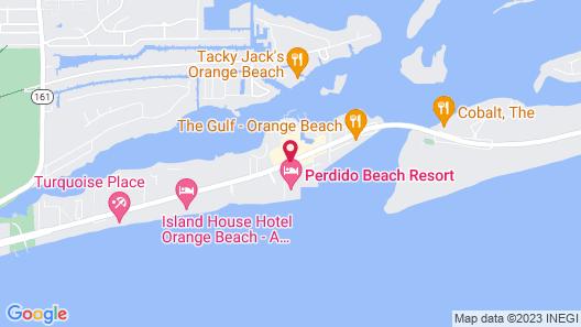 Perdido Beach Resort Map