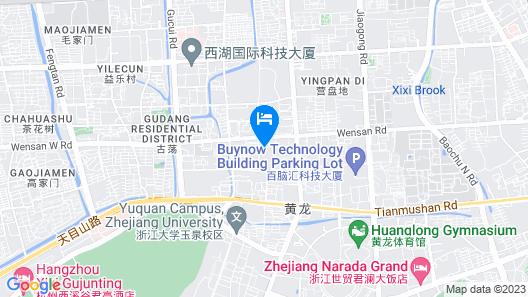 Holiday Inn Express Hangzhou Huanglong, an IHG Hotel Map