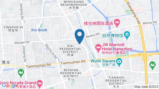 JW Marriott Hotel Hangzhou Map