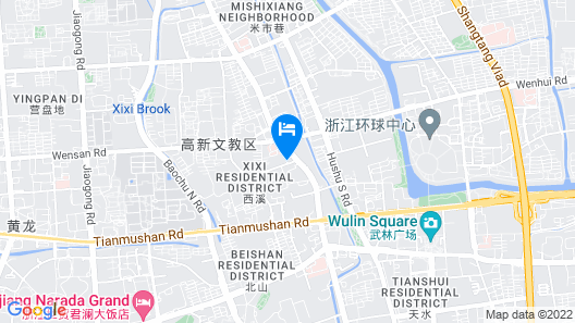 JW Marriott Hotel Hangzhou Map