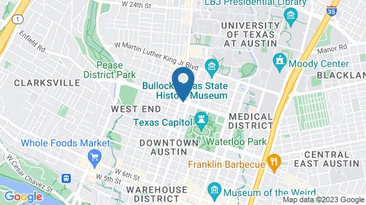 DoubleTree Suites by Hilton Austin Map