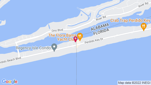 Classic Yacht Rentals at FloraBama Map