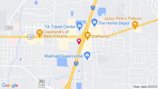 Motel 6 Slidell, LA - New Orleans Map