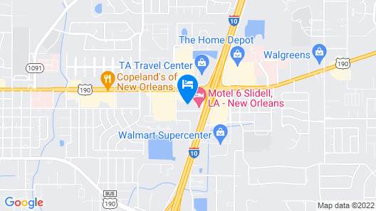 Comfort Inn & Suites Map