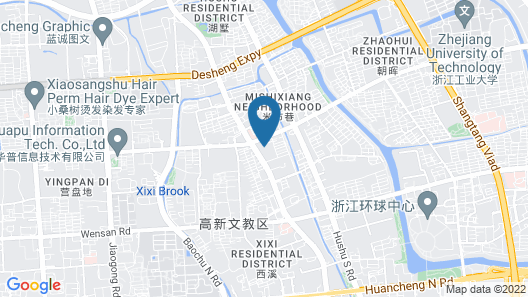 The East Hotel Hangzhou Map