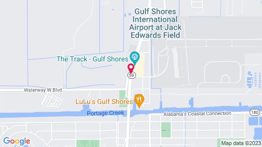 Alabama Gulf Coast Condominiums by Wyndham Vacation Rentals Map