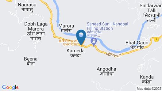 AR Resort Map