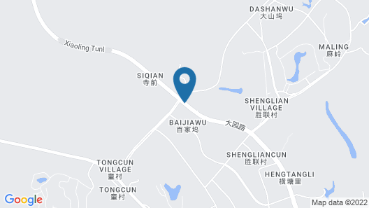 Hangzhou Marriott Hotel Lin'an Map