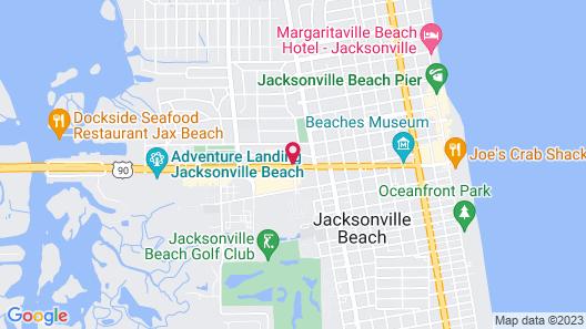 Holiday Inn Express Jacksonville Beach, an IHG Hotel Map