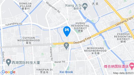 Best Western Plus Hangzhou Meiyuan Hotel Map