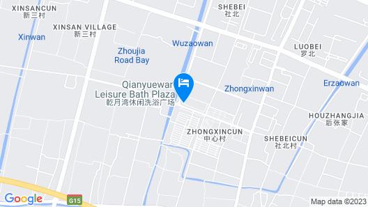 GreenTree Inn Ningbo Hangzhou Xinqu Lishi Plaza Map