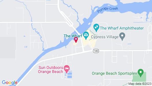 SpringHill Suites by Marriott Orange Beach Map