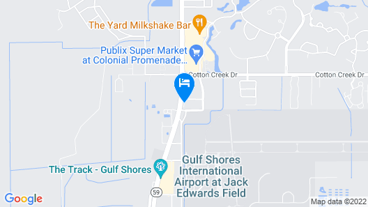 Microtel Inn & Suites by Wyndham Gulf Shores Map